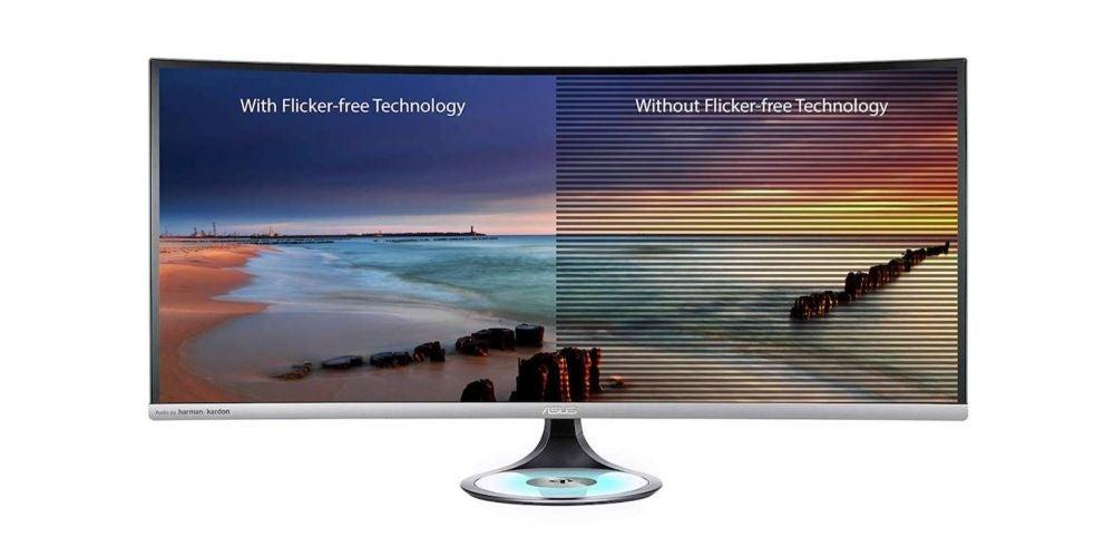 """$800+: ASUS Designo Curve MX38VC 37.5"""" Monitor"""