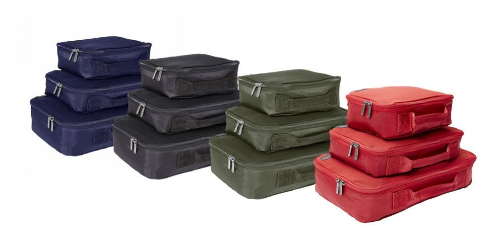 Genius Pack Compression Packing Cubes Set