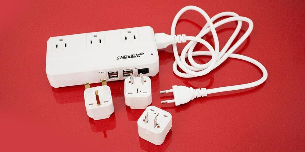 BESTEK Portable International Travel Voltage Converter
