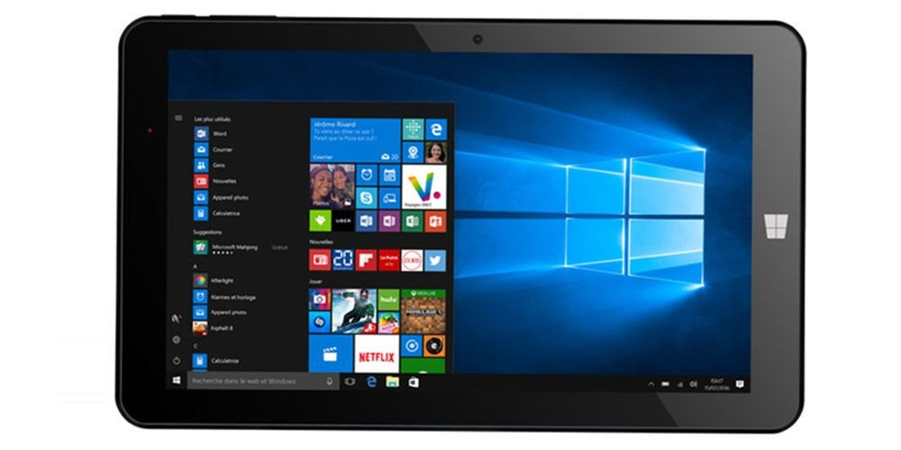 HERO 9 Intel Atom 1 GB RAM 32 GB SSD Windows 10 2-in-1 Tablet