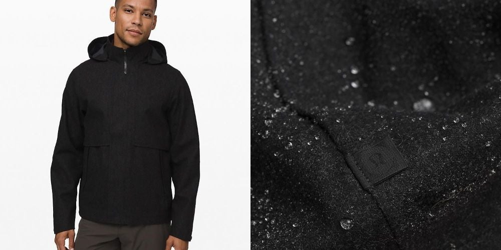 Storm Break Rain Jacket Wool