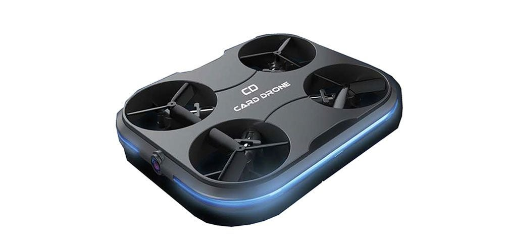 Force Flyers Card Drone with Hi-Res Wi-Fi FPV Camera