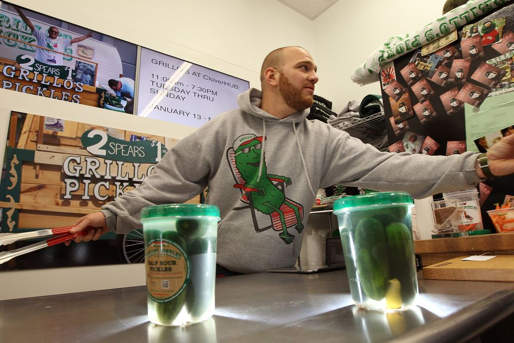 Travis Grillo, founder and CEO of Grillo's Pickles