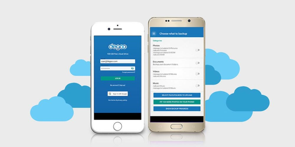 Degoo Premium: Lifetime 10TB Backup Plan