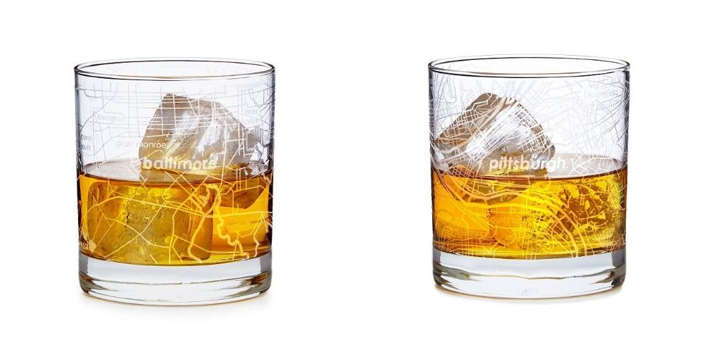 Urban Map Glass