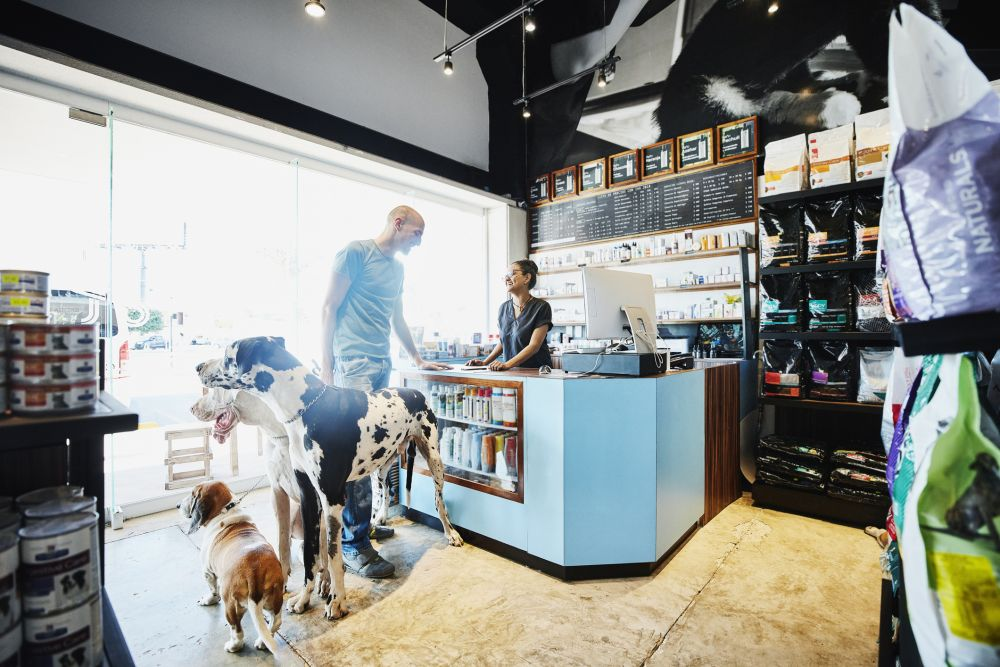 Pet store owner