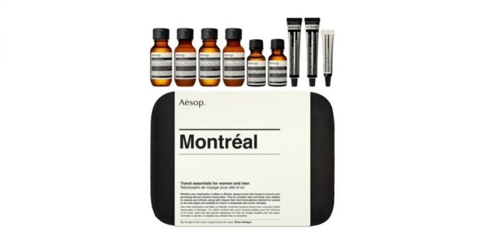 Aesop Montreal Nine-Piece Travel Grooming Set