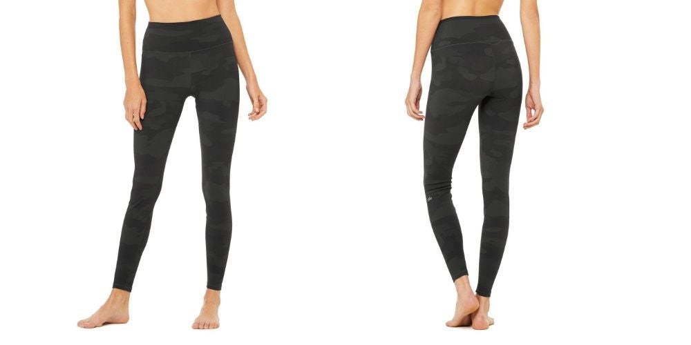 High-Waist Vapor Camo Leggings
