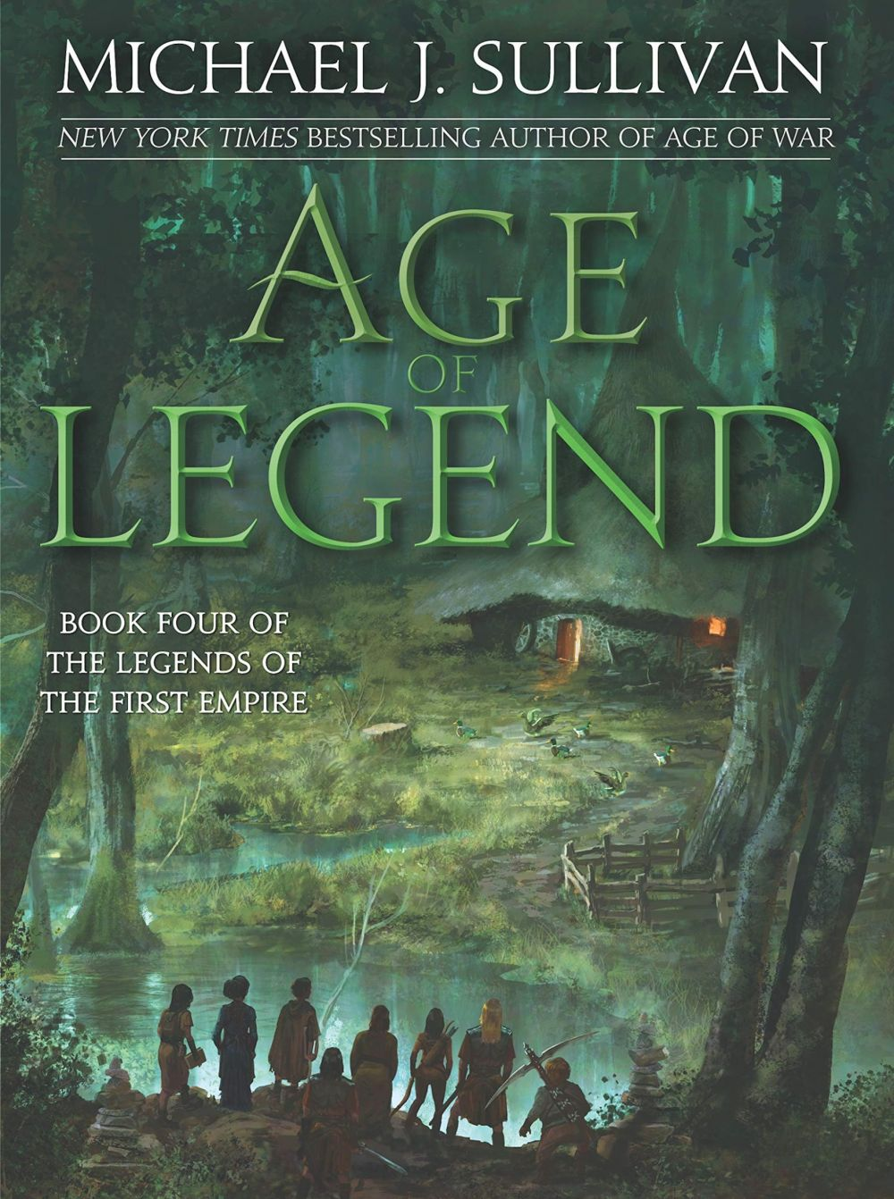 'Age of Legend' by Michael J. Sullivan and 'The Burning White' by Brent Weeks