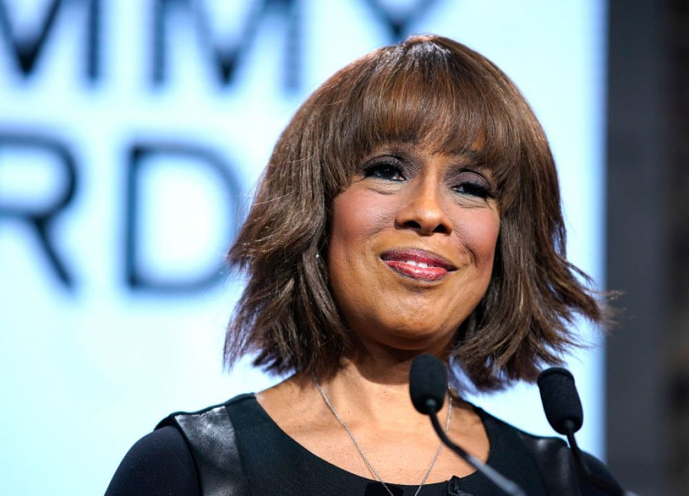 Gayle King, news host