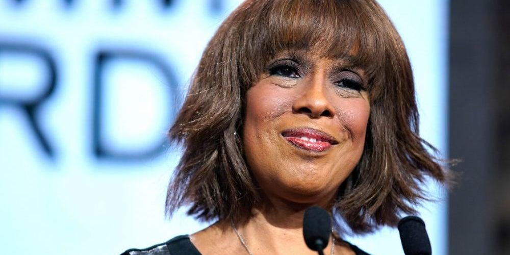Gayle King, news host