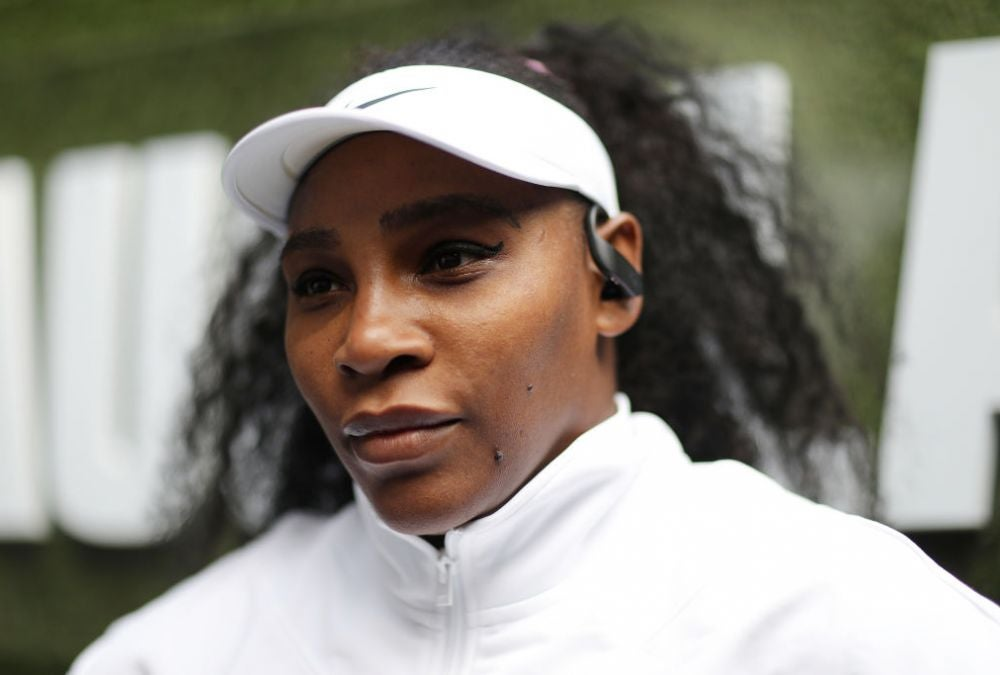 Serena Williams, record-breaking tennis champion