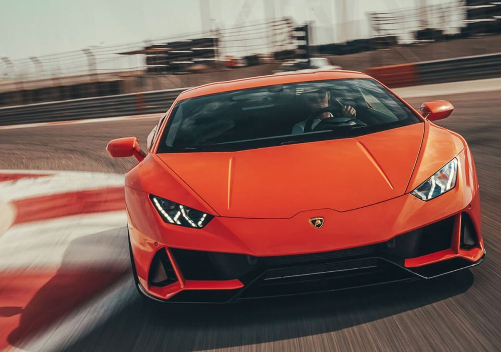 Lamborghini 2020 Huracán EVO with Amazon Alexa integration
