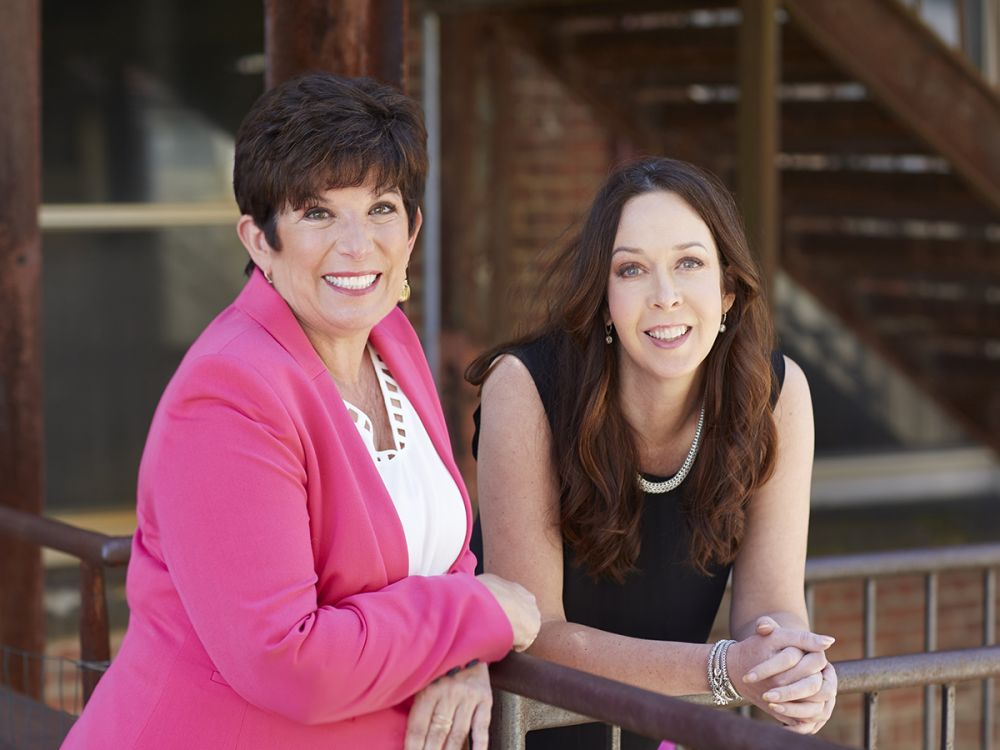 Leslie Apgar MD and Gina Dubbe (Founders of Greenhouse Wellness)