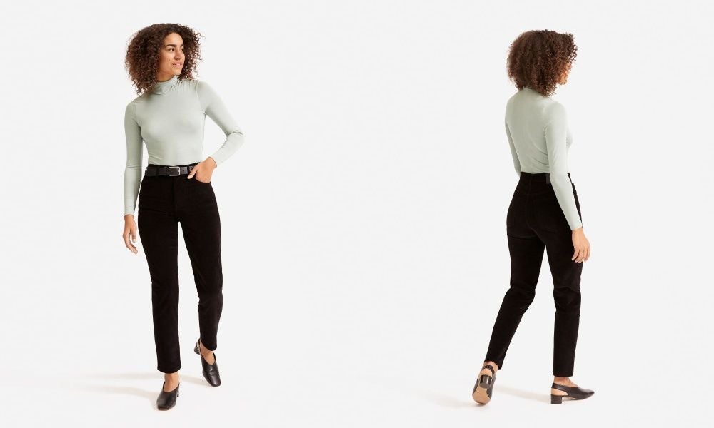 Everlane The Cheeky Straight Corduroy Pant
