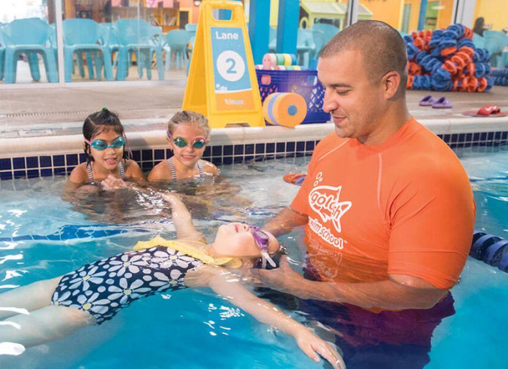 Swimming Lessons Franchises: Goldfish Swim School Franchising