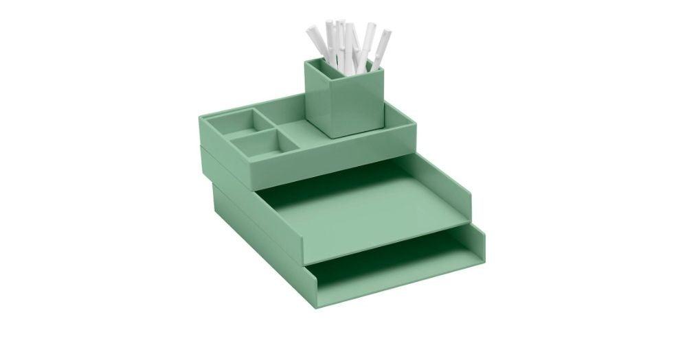 Sage Poppin Letter Tray Storage Kit