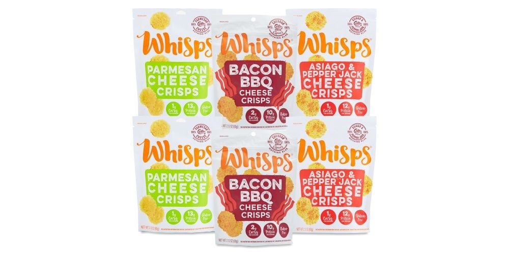 Whisps Keto Snacks Variety Pack