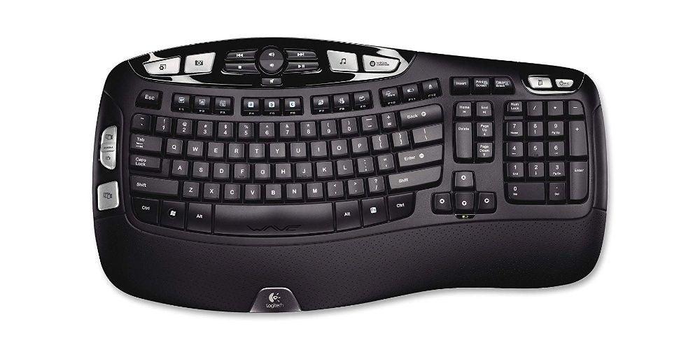 Logitech K350 Wireless Wave Keyboard - $39.99