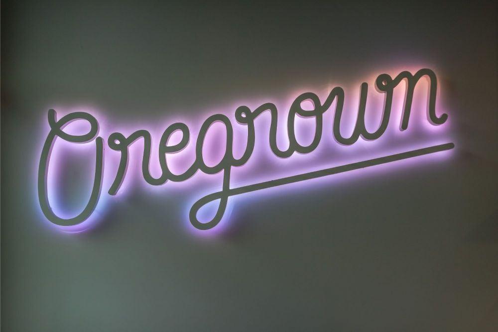 Oregrown is lit