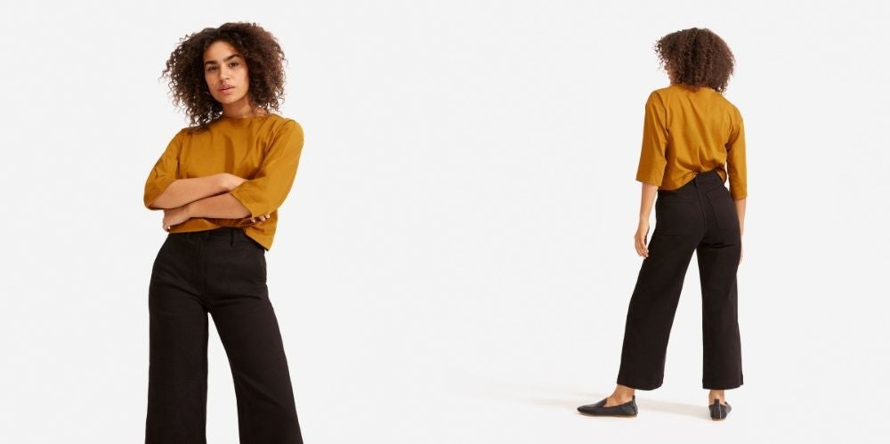 Wide Leg Pants from Everlane for When You Still Want to Feel Stylish