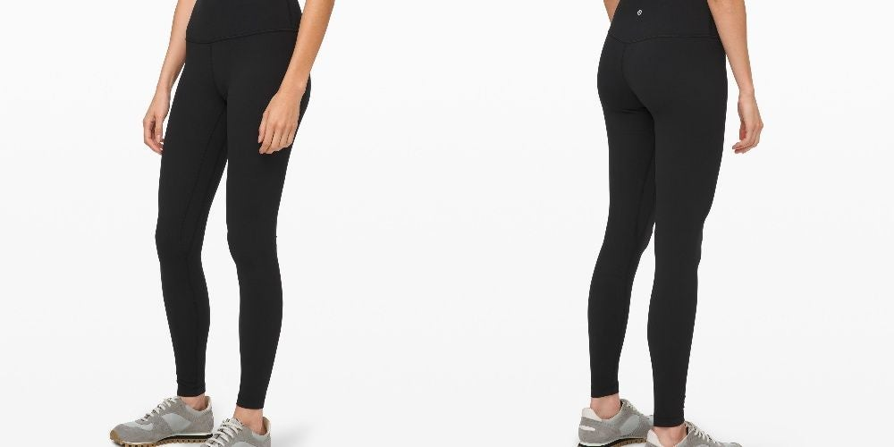 The Best Leggings Ever from Lululemon When You're Planning on Lunchtime Yoga