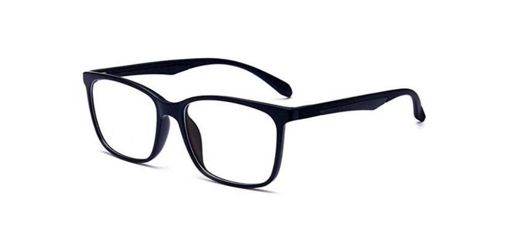 A Pair of Blue-Light-Blocking Frames to Prevent Eye Strain