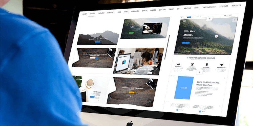 Develop a New Website