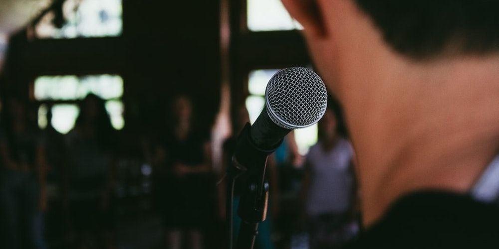 8. Public Speaking