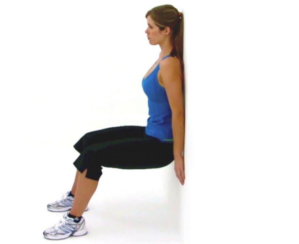 4. Wall Sit