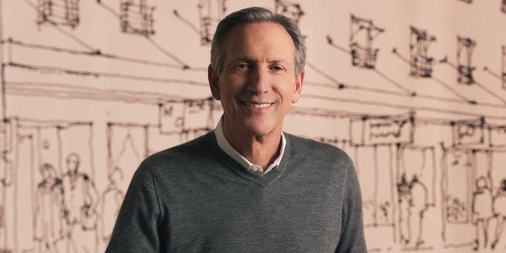 Business Leadership with Starbucks CEO, Howard Schultz