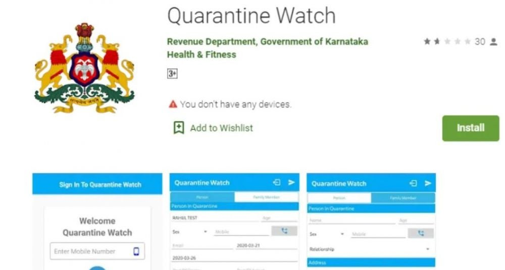 Quarantine Watch