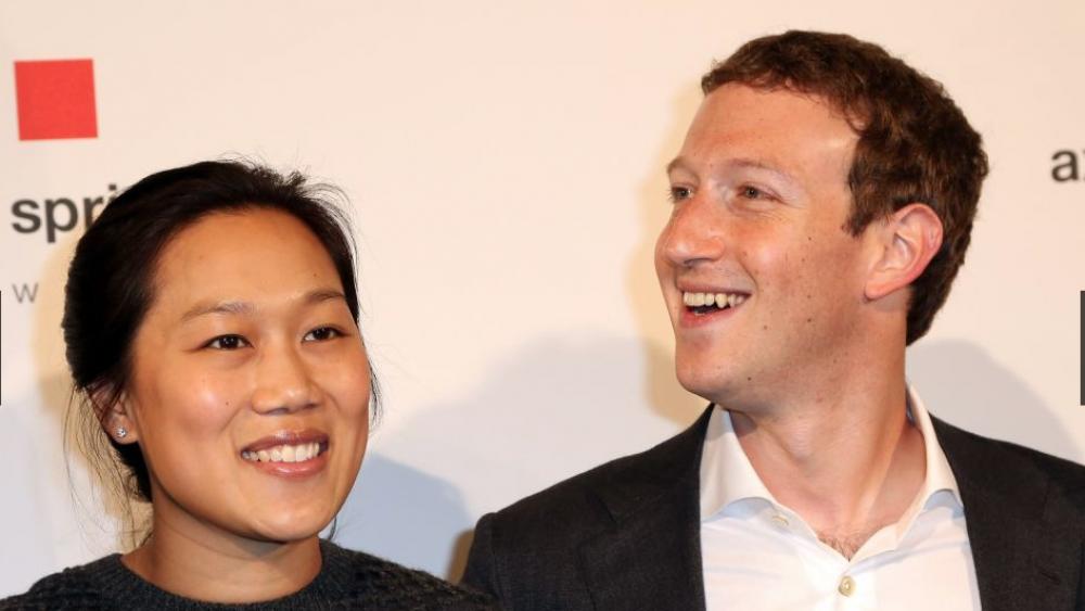Mark Zuckerberg y Priscilla Chen