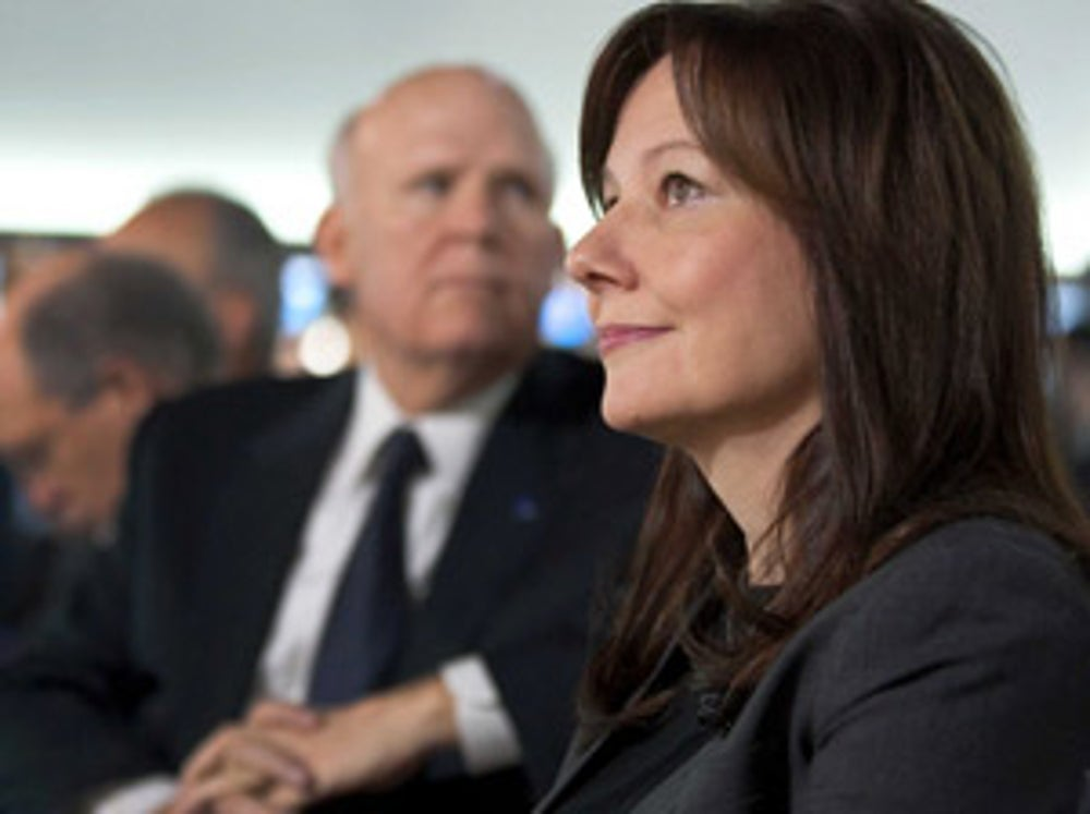 Incoming GM CEO Mary Barra
