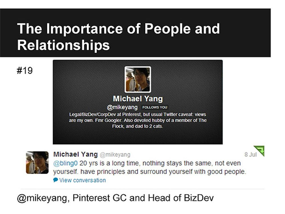 Michael Yang, Head of Biz Dev at Pinterest