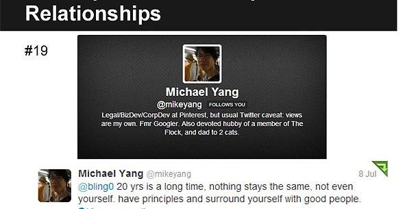 Michael Yang, Head of Biz Dev at Pinterest