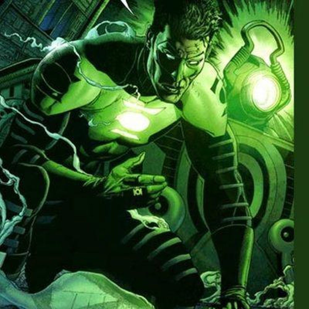 Kyle Rayner of Green Lantern