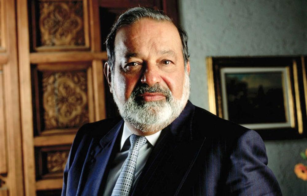 Telecom tycoon Carlos Slim