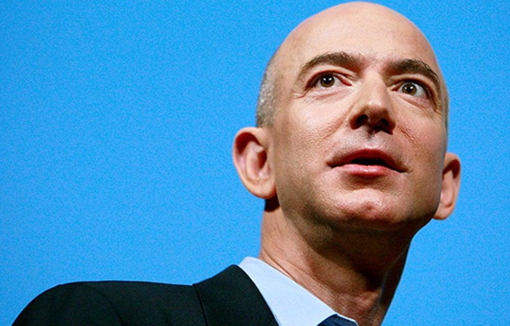 Amazon.com founder Jeff Bezos