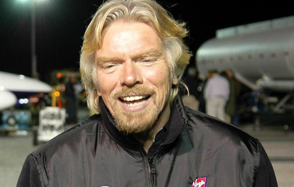 Virgin Group founder Richard Branson
