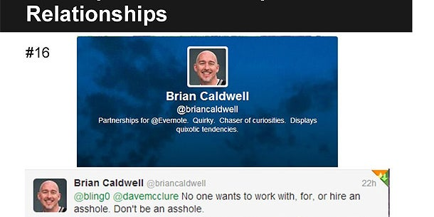 Brian Caldwell, Partnerships for Evernote