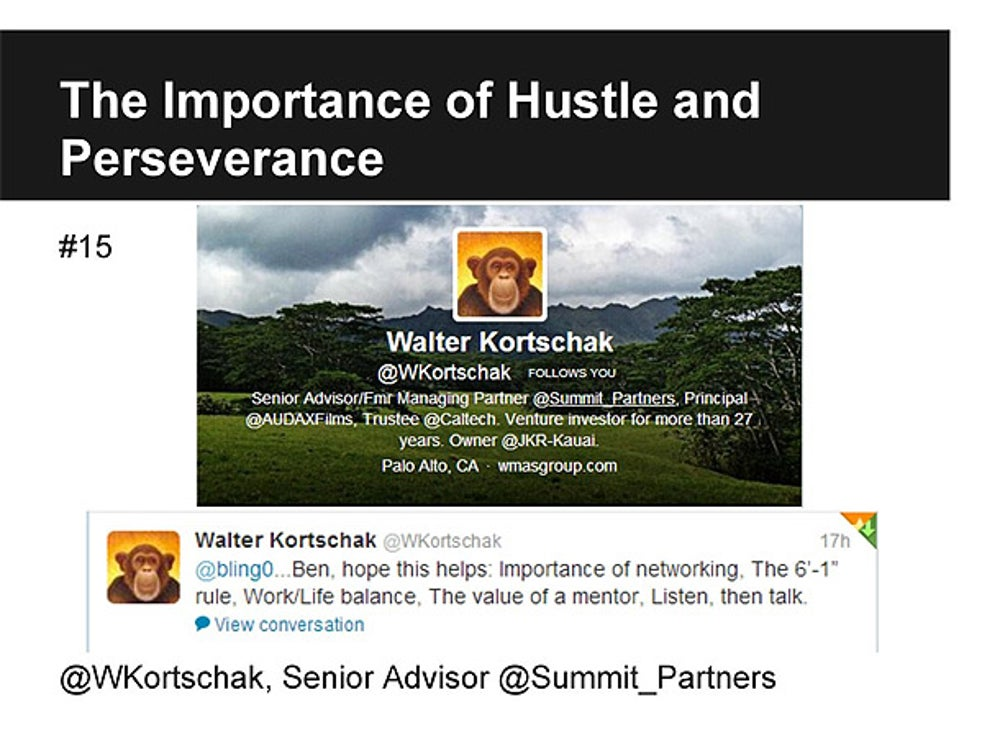 Walter Kortschak, Senior Advisor at Summit Partners