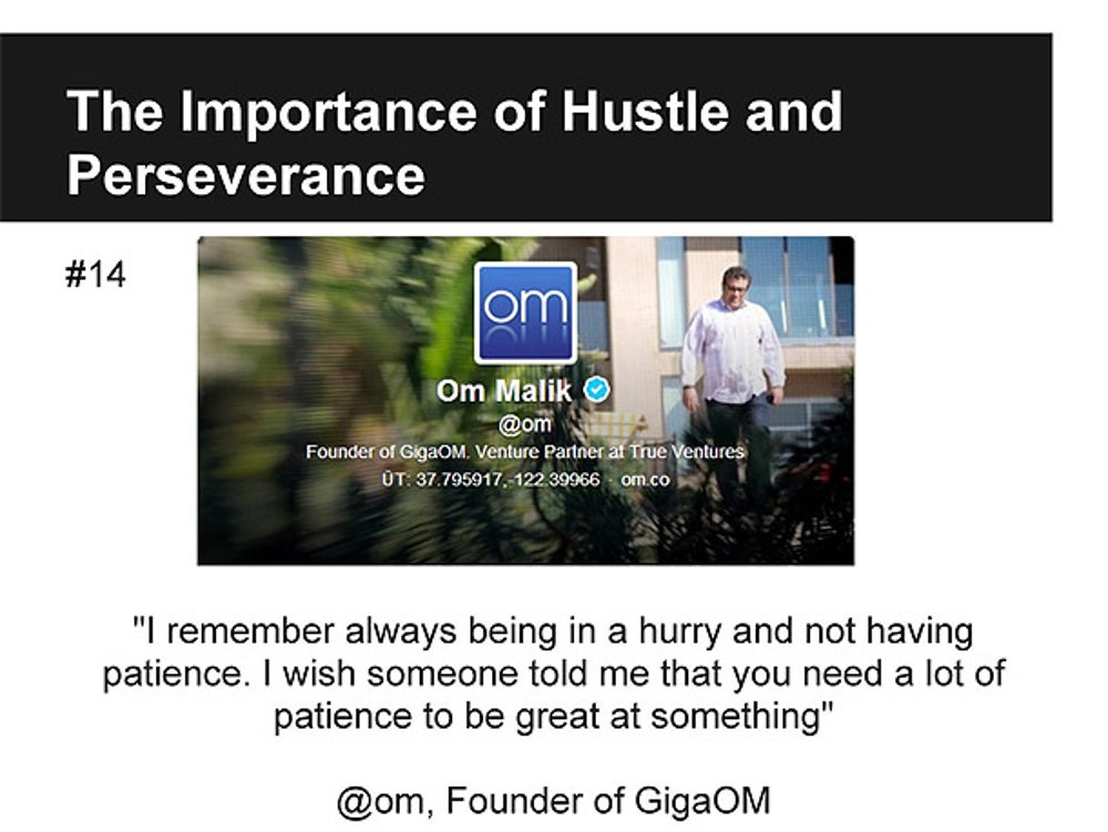 Om Malik, Founder of GigaOM