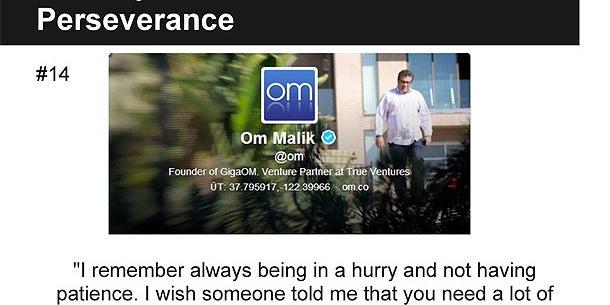 Om Malik, Founder of GigaOM