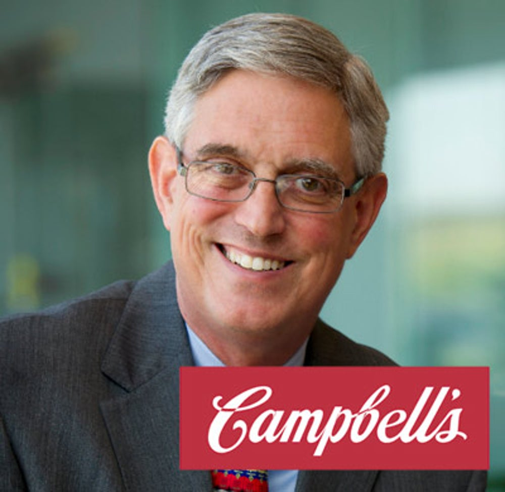 Doug Conant (Campbell's Soup CEO from 2001- 2011)