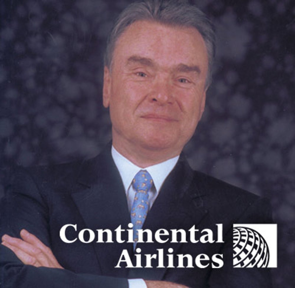 Gordon Bethune (Continental Airlines CEO from 1994-2004)