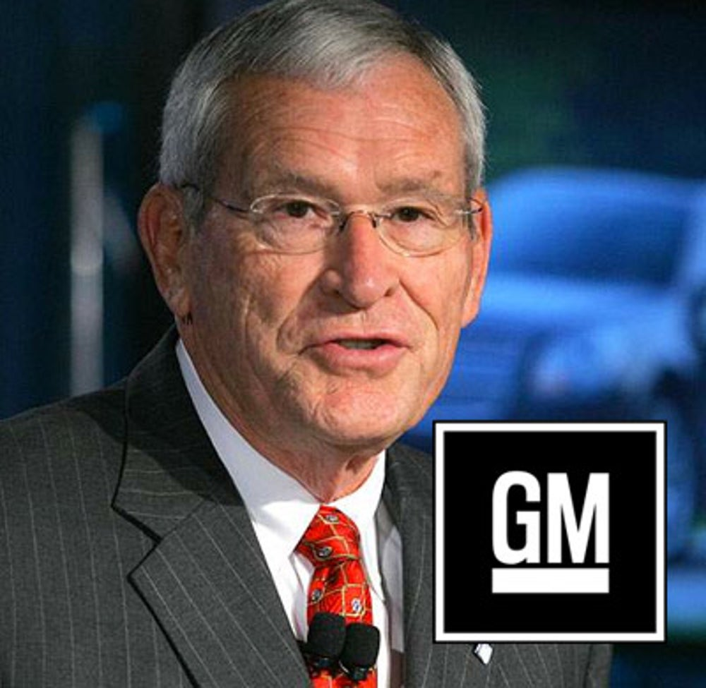 Ed Whitacre (GM CEO from 2009-2010)