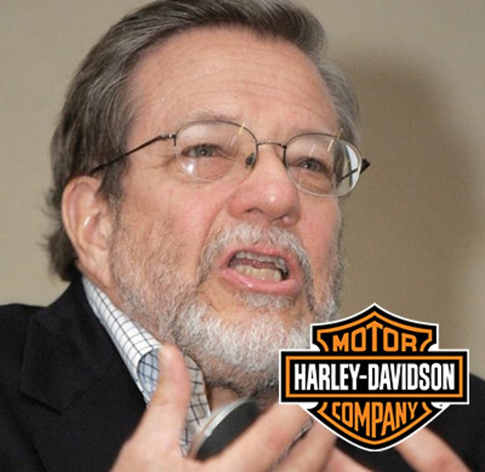 Richard Teerlink (Harley Davidson CEO from 1989-1997)