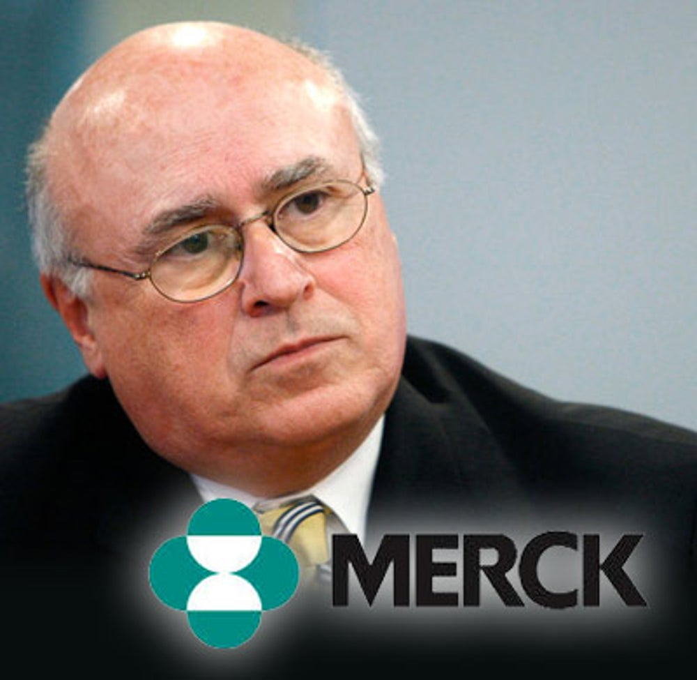 Richard Clark (Merck & Co. CEO from 2005-2010)