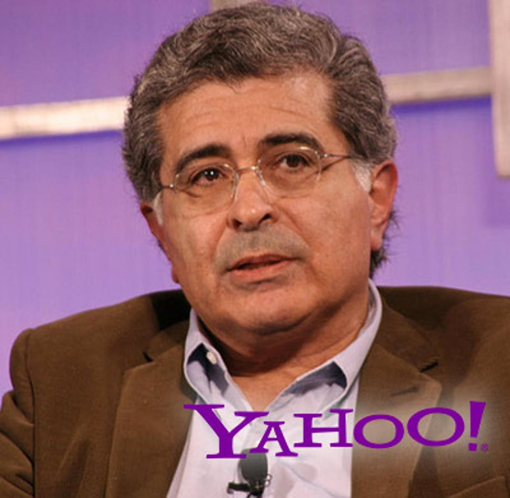 Terry Semel ( Yahoo! CEO from 2001-2007)